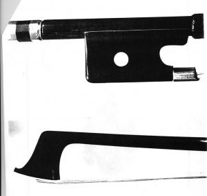 Foto des gestohlenen Maline Bogens