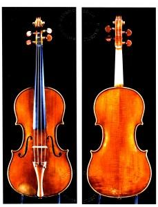 Violine Rovati Boden Decke