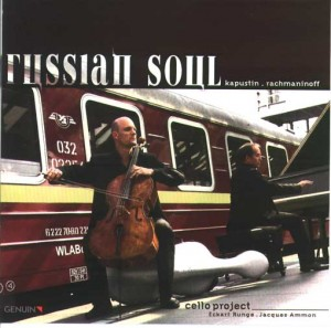 Celloproject Russian-Soul CD Eckart Runge Jacques Ammon