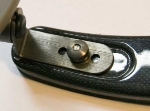 Pedi Geigenschulterstütze aus Carbon mit Titanfüßen