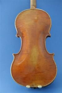 Gestohlene Geige Michael Dötsch, Berlin W.1971 Boden