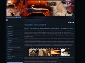 Screen von Geigenbauonline