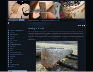 Geigenbauonline.com die englische Version von Geigenbauonline.de